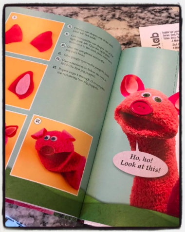28 sock puppets lesson plan