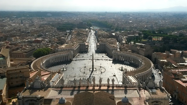 Rome, The Vatican, St. Peter's Square