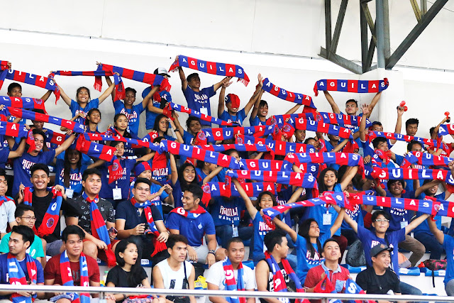 Davao Aguilas FC Attracts a Large Crowd in its First Home Game in Tagum