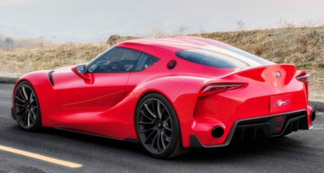 Toyota FT1 Top Speed