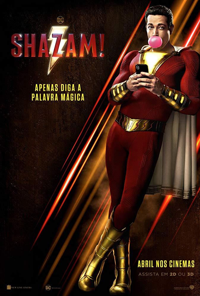 Capa do Filme Shazam!