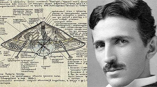 Nikola Tesla, los OVNIS, la antigravedad y los extraterretres