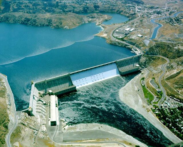 Usina hidrelétrica Grand Coulee - EUA