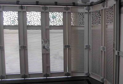 model pintu garasi sliding minimalis terbaru