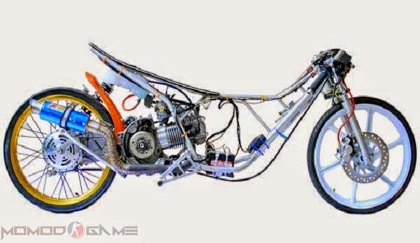 Mod Motor Drag 58 Batangan GTA SA