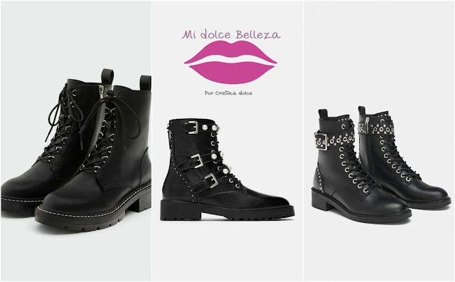 collage botas moteras midolcebelleza
