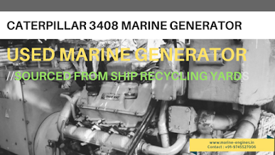 Marine, Generator, motor, propulsion, gearbox, genset, used, pre owned, spare, used, second hand