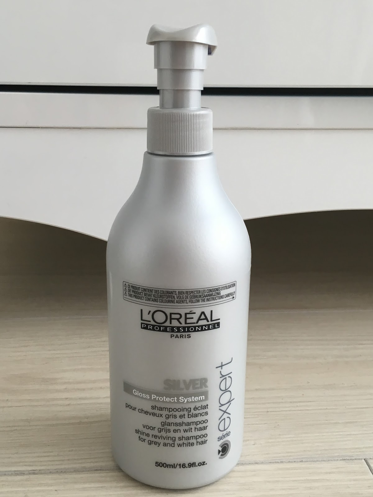 Loreal silver şampuan