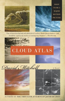Cloud Atlas by David Mitchell - book cover