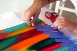Cara Membuat Kerajinan Tangan Sederhana, Lukisan Unik 5