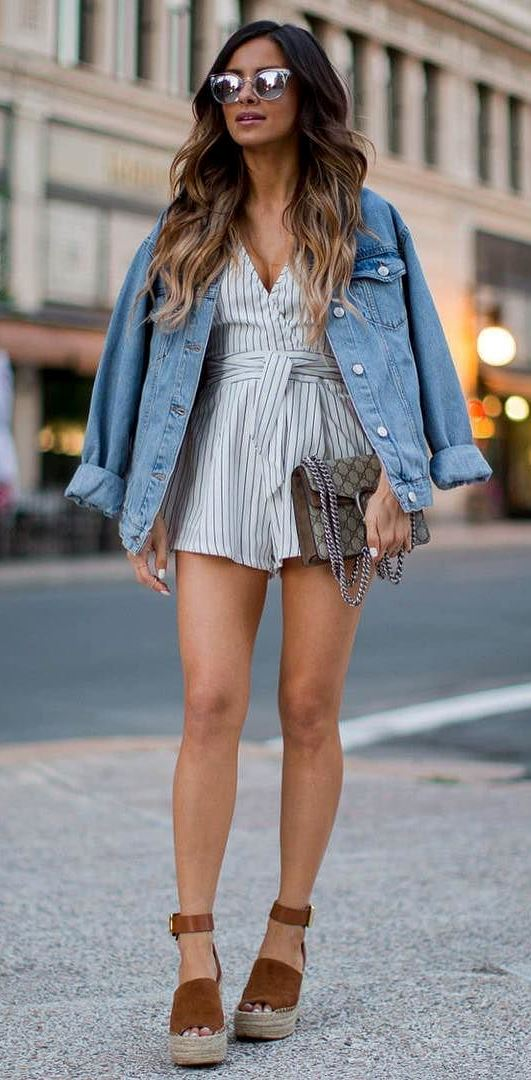 outfit of the day: jacket + jumpsuit + bag