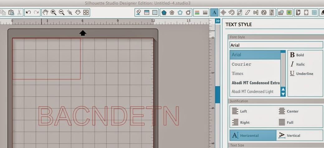 Silhouette Studio, Silhouette tutorial, nest, scrap vinyl, draw a rectangle