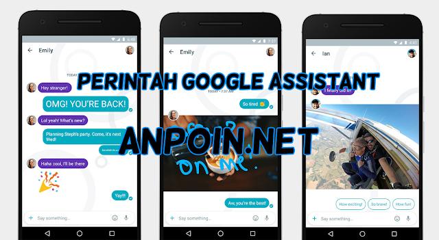 Cara Melakukan Perintah Google Assistant di Aplikasi Chat Google Allo, Perintah Chat Google Assistant, Fitur Google Assistant Lengkap, Cara Menggunakan Google Assistant di Google Allo.