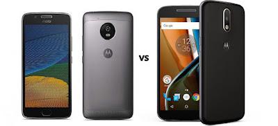 Moto G5 vs Moto G4