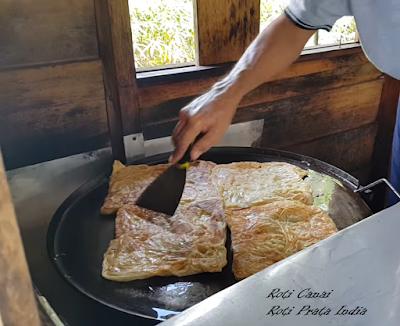 Makanan Melayu Pekanbaru Riau roti canai roti prata india