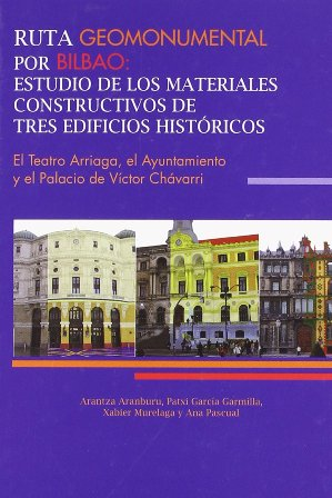 Libros arquitectura ruta geomonumental por bilbao estudio de los - Estudios de arquitectura bilbao ...