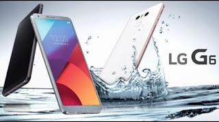 LG تكشف النقاب عن الهاتف الجديد G6 .