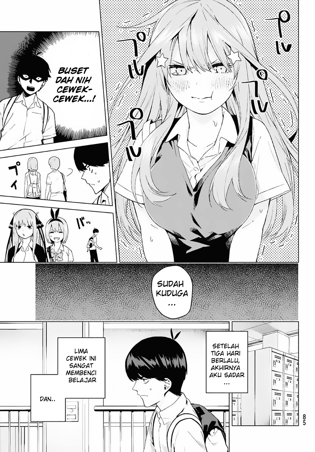 Go-toubun No Hanayome Chapter 3 Bahasa Indonesia