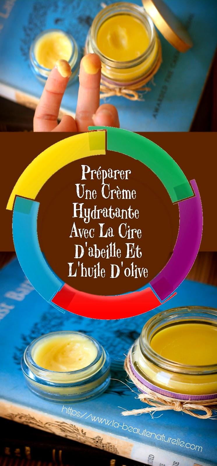 Préparer Une Crème Hydratante Avec La Cire D'abeille Et L'huile D'olive