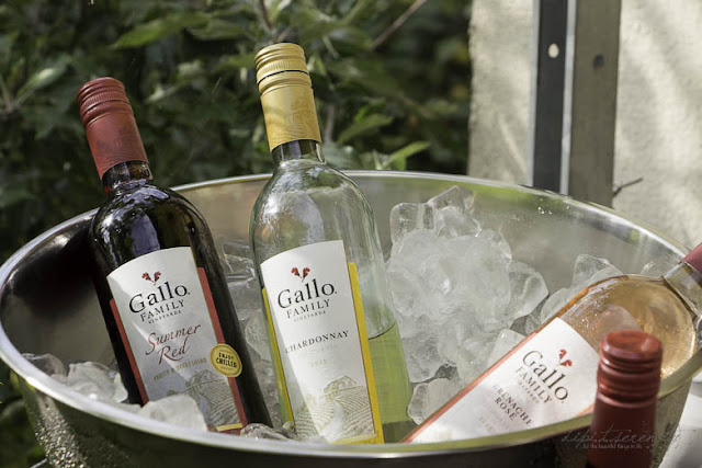 Gallo Family Summer Red, Chardonnay, Rose, Shiraz