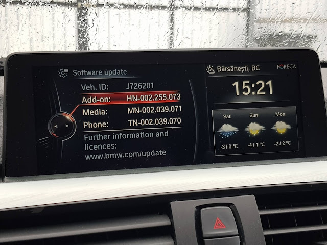 Actualizare software iDrive BMW