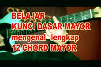 Kunci Gitar Dasar Mayor - Belajar Bermain Chord Yg Benar