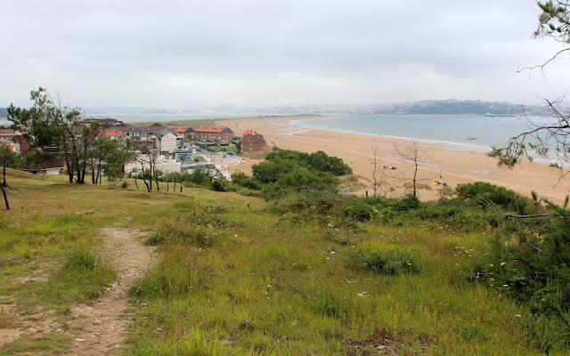 Playas de Somo. Playa de las Quebrantas y del Puntal. Ruta por el monte de Arna. Ribamontán al Mar