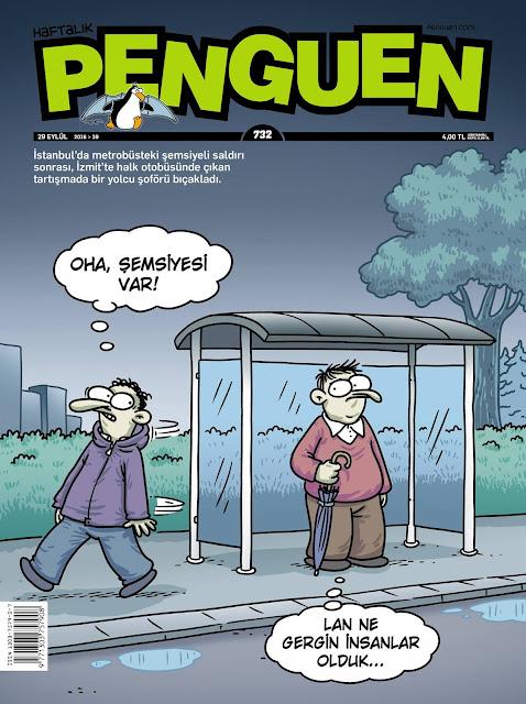 Penguen Dergisi | 29 Eylül 2016 Kapak Karikatürü