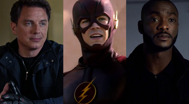 agents of shield, arrow, the flash