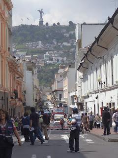 ecuador, el Panecillo, Quito