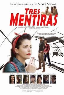 Póster: Tres mentiras (2014)