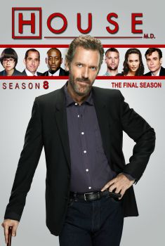 Dr. House 8ª Temporada Torrent - WEB-DL 720p Dual Áudio