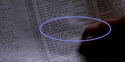 Error guía telefónica - Regreso al futuro