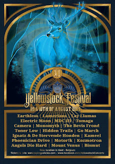 Yellowstock Festival 2019 poster