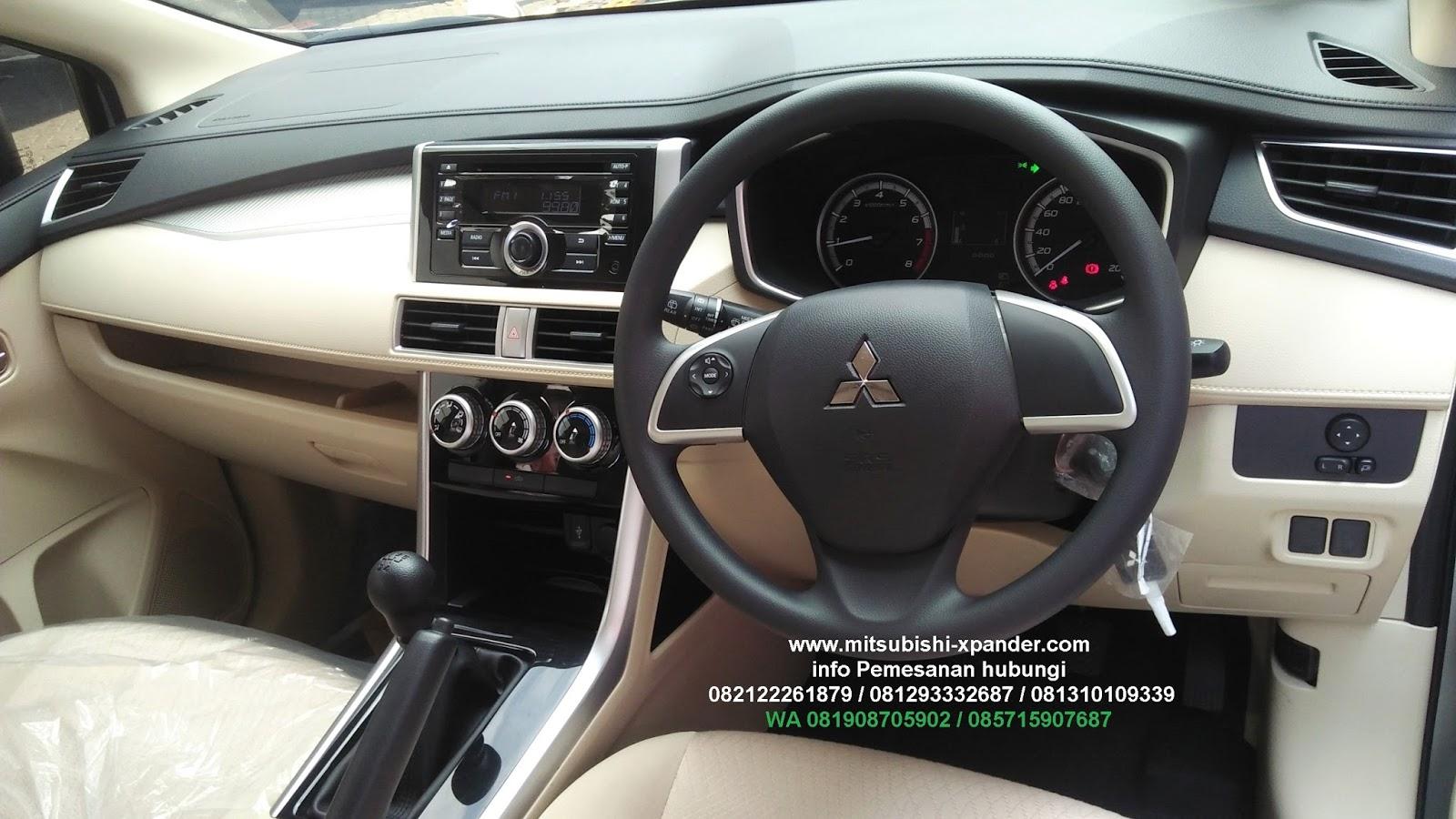 New Mitsubishi Xpander: interior Xpander