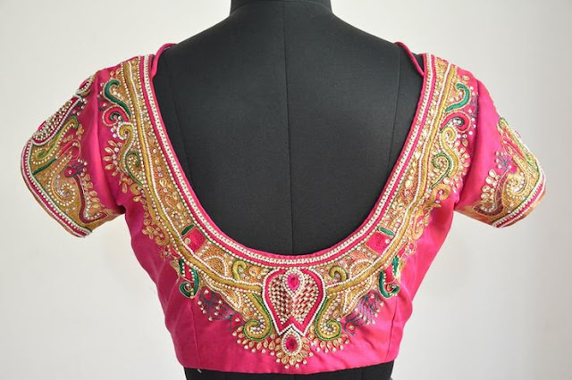 marriage blouse designs