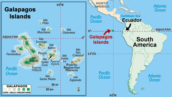 where galapagos islands