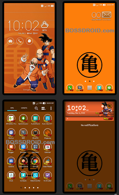 Dragon Ball Z Themes For Asus Zenfone