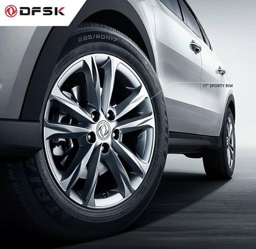 Kaki Kaki Velg 17 Inci SUV DFSK Glory 580