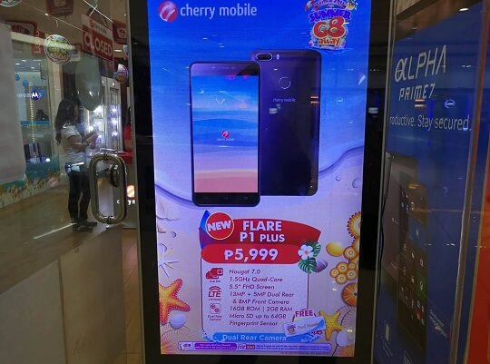 Cherry Mobile Flare P1 Plus Spotted; Dual Rear Cameras Android Nougat for Php5,999
