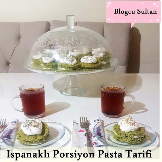 Ispanaklı Porsiyon Pasta Nasıl Yapılır?