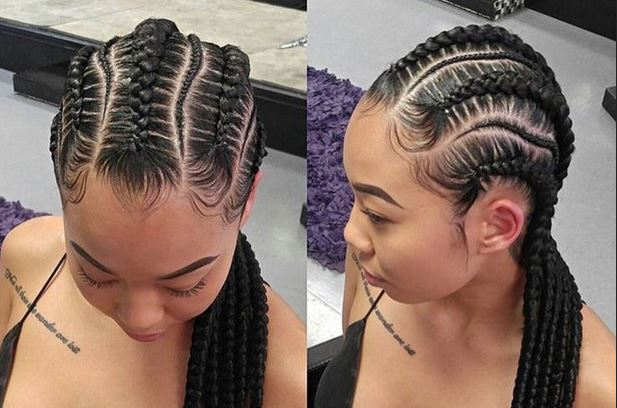 French Braid Hairstyles With Weave Latest and Best for ...