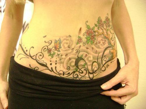 50 Tatuajes Para Tapar Estrías En La Barriga Belagoria La Web De