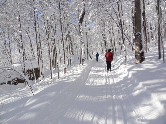 Quebec cross-country skiing