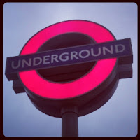 Underground Roundel, Kings Cross