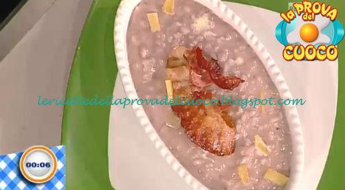 Risotto bitto e bonarda ricetta Beretta da Prova del Cuoco