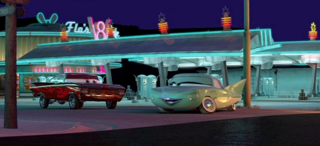Dan The Pixar Fan Cars Hydraulic Ramone