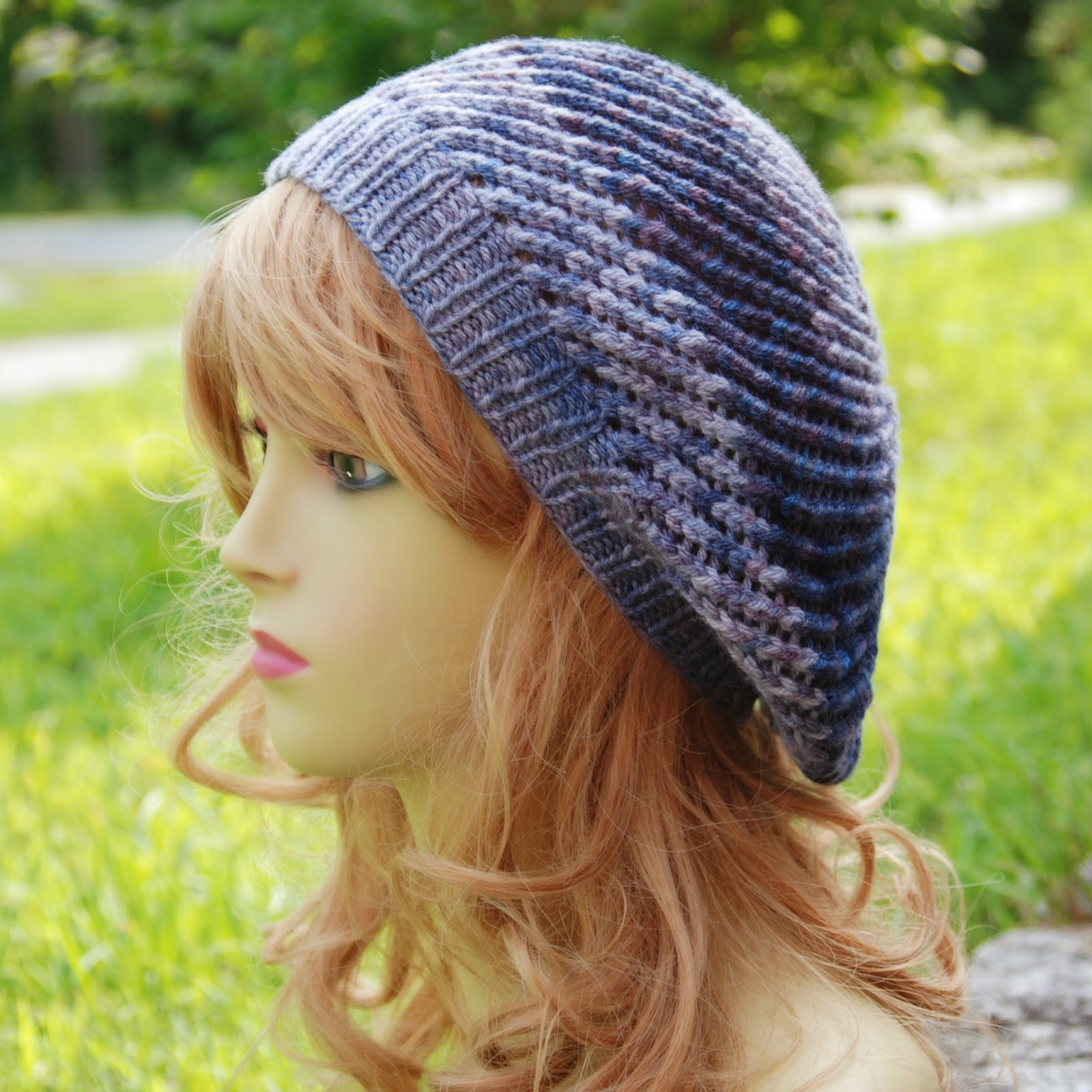 0d164890d Free Slouchy Beanie Knitting Pattern - Parchment N Lead