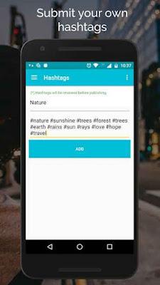 تحميل برنامج hashtag