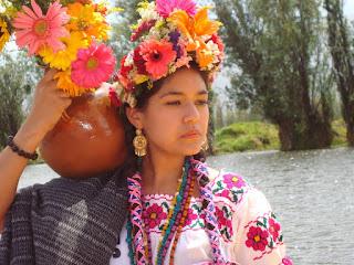 la flor más bella del ejido xochimilco 2016